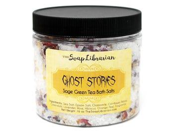 Ghost Stories - Green Tea Sage Bath Salts
