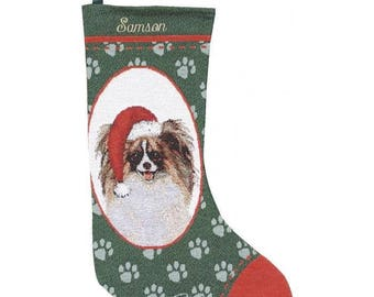 Pekanese Personalized Christmas Stocking