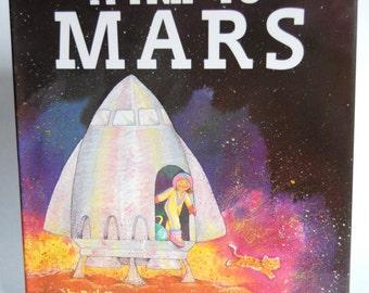 Vintage Children's Book, A Trip to Mars
