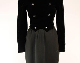 VALENTINO Tuxedo Dress