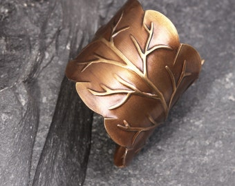 Leaf Ring Nature Inspired Ring Woodland Ring Leaf Ring For Women Ring Leaf