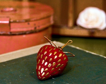strawberry bauble
