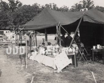 Vintage Photo Boy Scout Mess 1959 - Digital Download - Prints Available