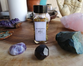 Imbolc Candlemas Sabbat Oil Elixir Potion - Out with the Old & In with the New, Cleansing, Purification, Goals, Plans, Ideas