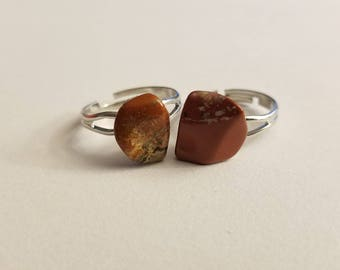 Orange Gemstone Ring