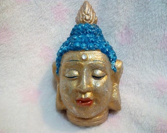 Buddha. Sculpture. Hand Painted