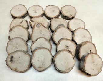 Wood stepping stones etsy 20 oak wood slices 1 58 to 1 34 workwithnaturefo