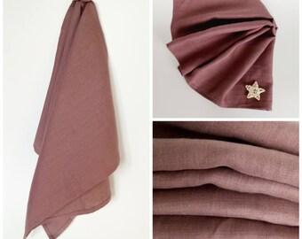Linen Kitchen Towel – Rosy Brown, Dish Towel, Tea Towel