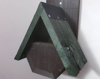 The 'Alpine Robin' Bird Nesting Box - Henry's Bird Boxes, Handmade in Wales