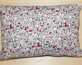 Rectangle Cushion Cover - Mixed Breeds
