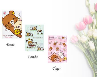 Rilakkuma, Korilakkuma, panda, tiger folder, cat file, portfolio, paper organizer, storage, cute stationery, school supply, office supply