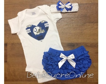Indianapolis Colts Outfit and Headband