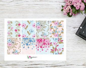 Planner stickers flowerboxes full EC boxes