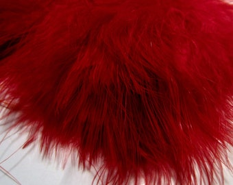 Red Marabou Feathers MRDQ-04 .25 oz pack