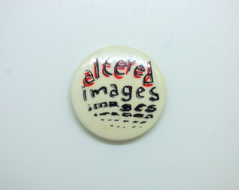 Vintage 80s Altered Images - Scottish Pop New Wave - Pin / Button / Badge