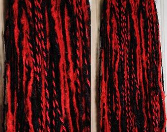 "Licorice Hair Fall 24"" Set (2)"