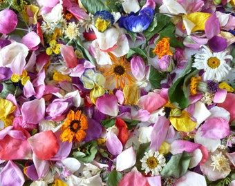 Bulk Dried Flowers, Wedding Confetti, Table Decor, Centerpieces, Craft Supplies, Aisle Decorations, Wedding Favors, Biodegradable 120 cups