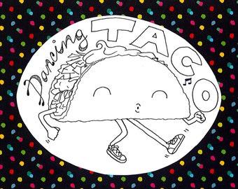 Dancing Taco