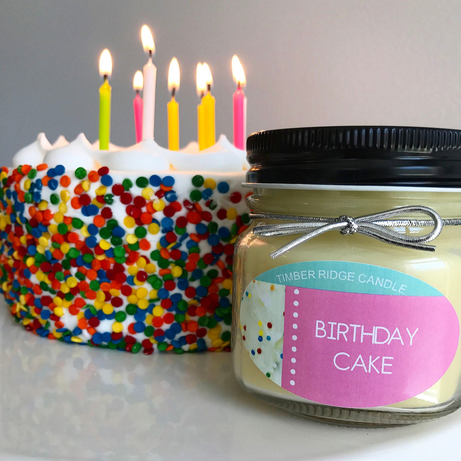 Birthday Cake Birthday Candle Food Candles Soy Candle Scented