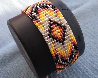 Bead bracelet friendship bracelet handmade beaded