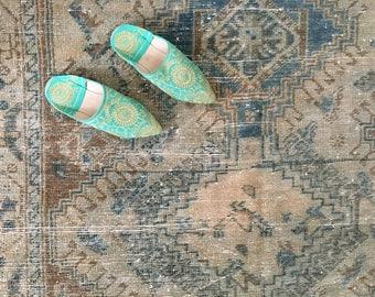 Vintage Neutral Persian Rug