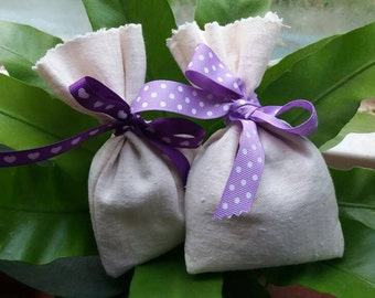 Handmade lavender bags