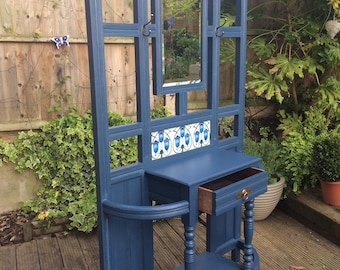 NOW  SOLD    Vintage 1930 oak hallstand