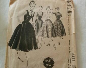 1950s dress pattern (McCalls)