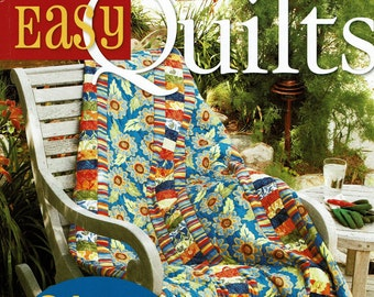 On Sale, Modern Quilts, Easy Quilts, Beginner Quilts, Quilt Patterns, Gifts For Quilter, Patchwork Book, Strip Piecing, Fons and Porter, Sew