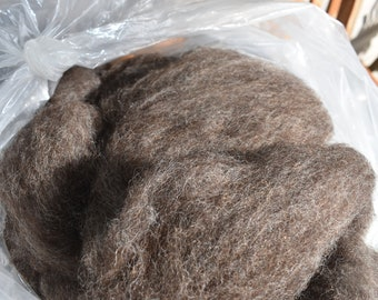 Alpaca/Shetland Blend Roving 4 or 8 ounces