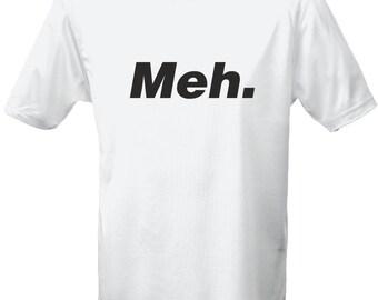 Meh Geek Mens T-Shirt 10 Colours (S-3XL) by swagwear