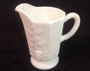 Small Milk Glass Pitcher