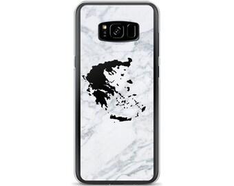 Samsung Case, Greek map