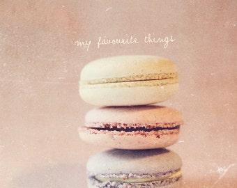 Pink Decor, Lavender Decor, Macaroon Art, Macaron Art, Macaroon Photo, Macaron Photo, Girl's Room Decor, Gift For Her, Gift For Baker