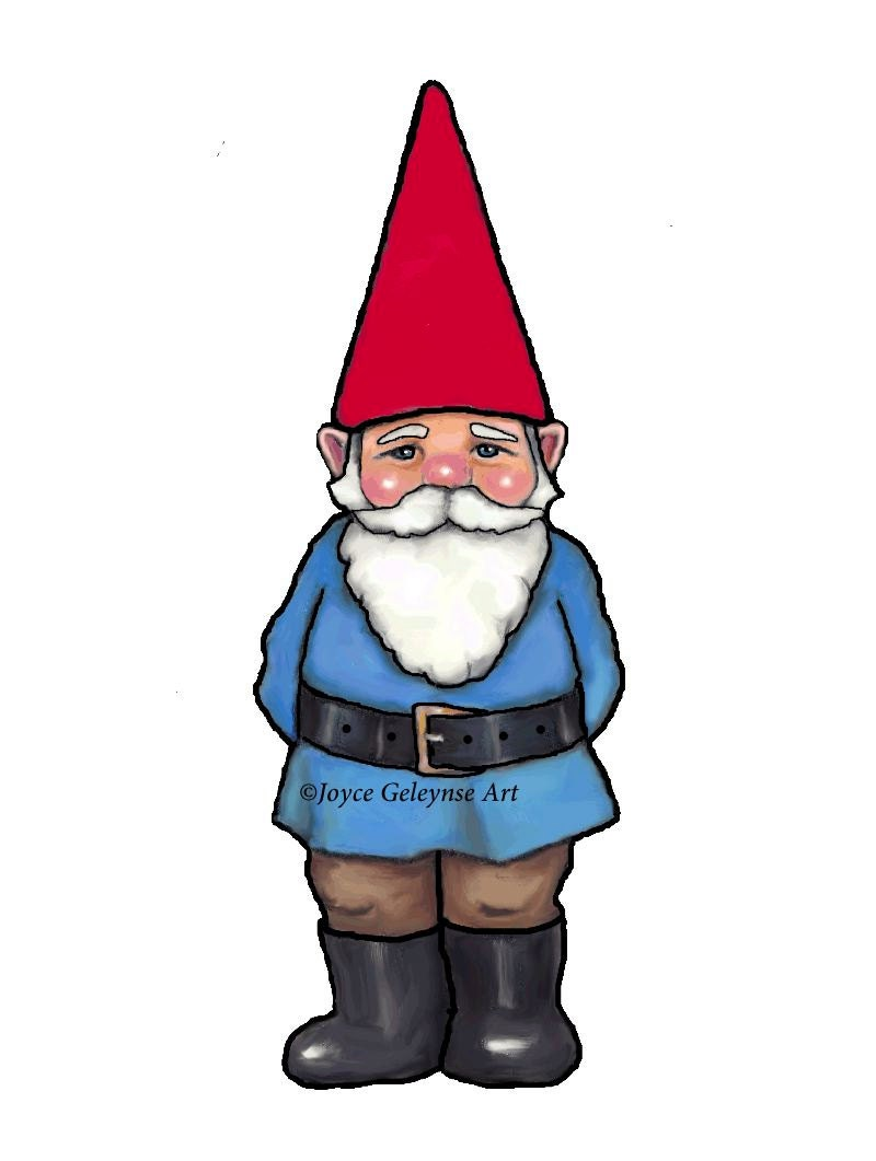 gnome clipart hand drawn clipart commercial use ooak clipart rh etsystudio com clipart gnome face clipart gnome face