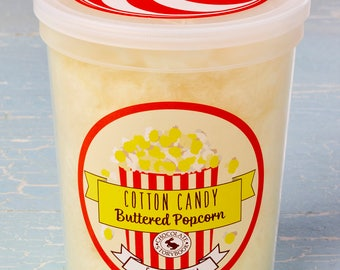 Buttered Popcorn Cotton Candy