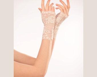 Fingerless Gloves Lace Wedding Gloves White Lace Gloves Wedding Gloves Bridal Gloves Bridal Cuff Wedding Fingerless Gloves Bridal Mittens