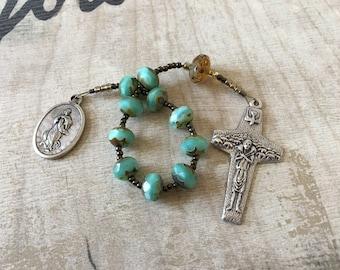Ave MariaHandmade Catholic Pocket Rosary