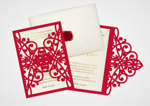 Laser cut wedding invitation template digital vector 5x7 card file laser cut wedding invitation template digital vector 5x7 card file ai eps pdf cdr svg studio dxf ornamental swirly scanncut card from stopboris Images