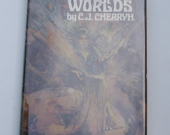 1st Ed. - Hunter of Worlds by C.J. Cherryh - Nelson Doubleday, Inc. 1977 - First Edition