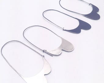hoop earrings [silver lining collection]