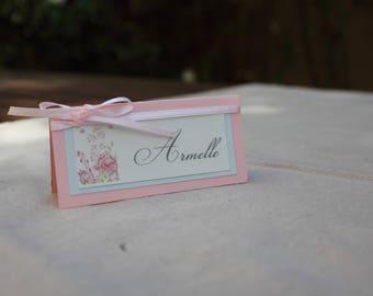 Place card variety | pastel wedding.