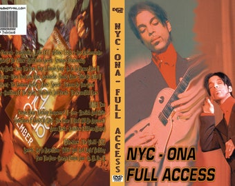 Prince ONA New York Full Access 2DVD set Rare!!