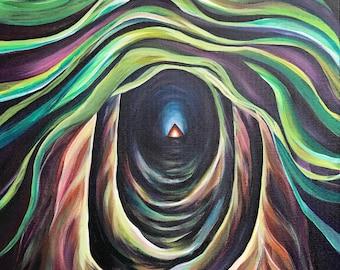Pacific Northwest Art Landscape Painting - Canvas Print