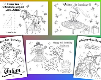 Pinkalicious Party Favor, Pinkalicious coloring pages, PDF file