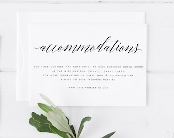 accommodation cards template - Ecza.solinf.co