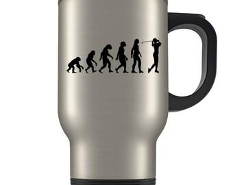 Golfing Travel Mug, golfing gift, golfing gift idea, golfing gift for women, golfing gift for her, womens golf gift, golf gift, golfer