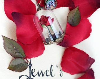 the beauty and the beast - necklace - ring