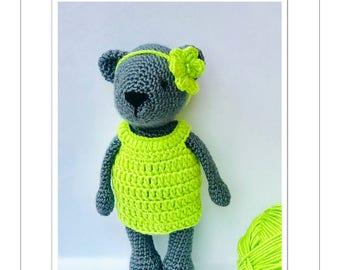 Crochet Tia the Bear pattern