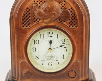 Disney Seiko Quartz Musical Alarm 60th Anniversary Radio Clock